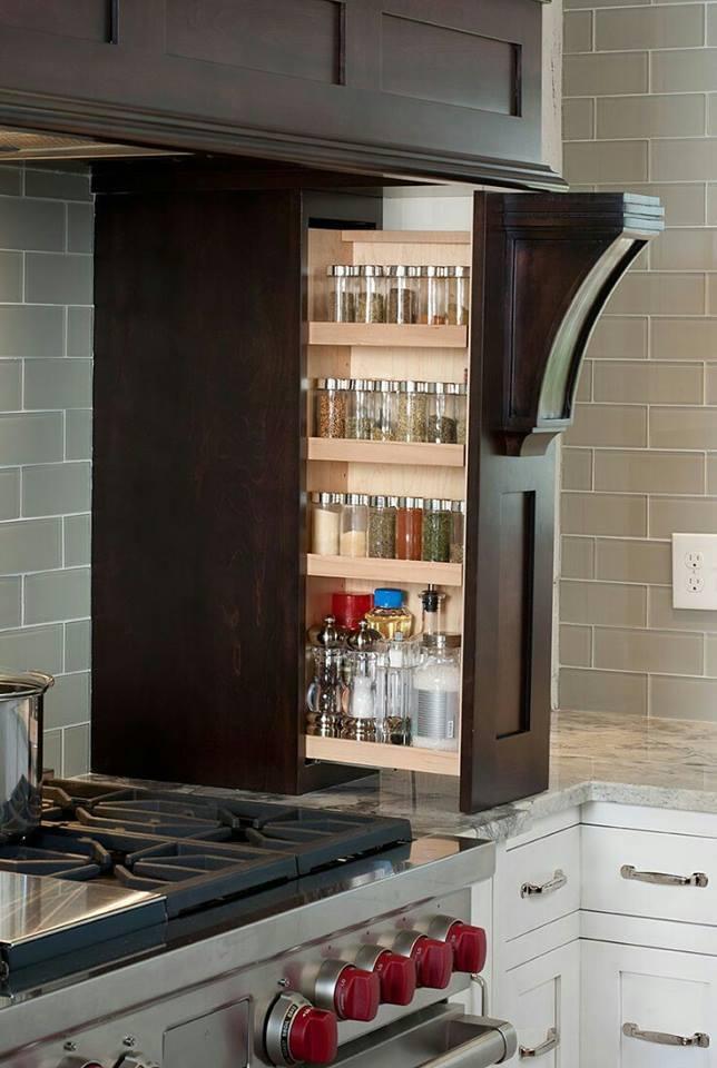 Ideas para organizar especias en la cocina 17 - Ideas para organizar la casa ...