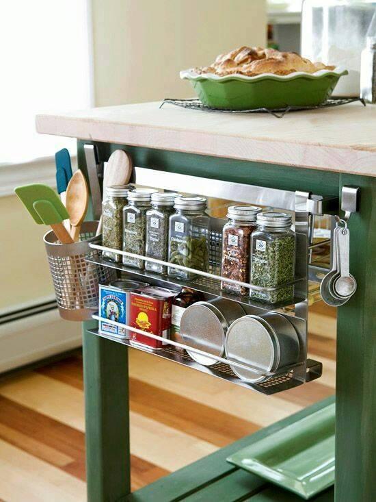 Ideas para organizar especias en la cocina