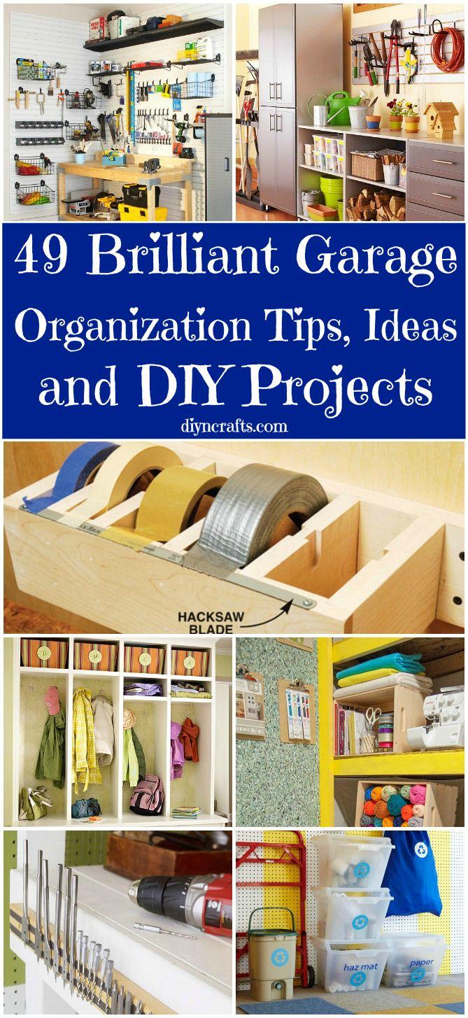 Ideas para organizar un garage 10 decoracion de - Ideas para organizar la casa ...