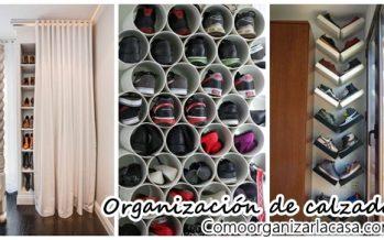 Ideas para organizar zapatos y zapatillas
