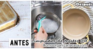 Limpiador mágico de ollas y sartenes DIY