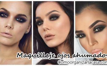 Maquillaje perfecto para estas fechas con ojos ahumados