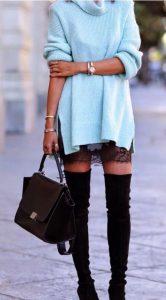 Outfits con botas altas (22)