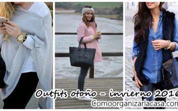 Outfits con mucho estilo ideales para otoño-invierno 2016