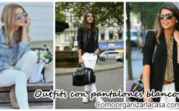 Outfits con pantalones blancos – Mira como combinarlos