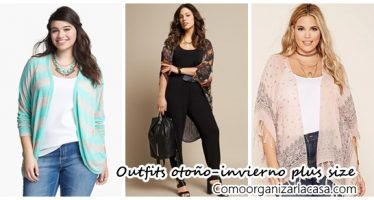 Outfits de temporada para chicas plus size