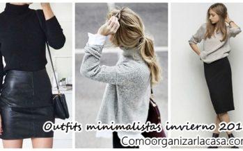 Outfits minimalistas para invierno
