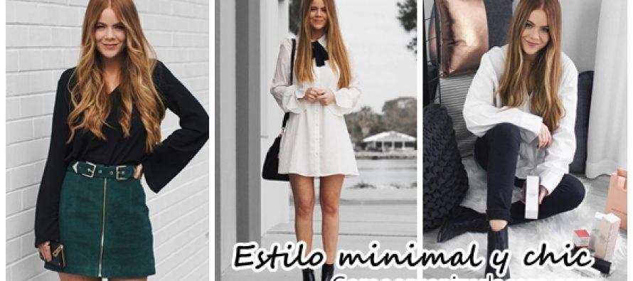 Outfits para un estilo minimal y chic