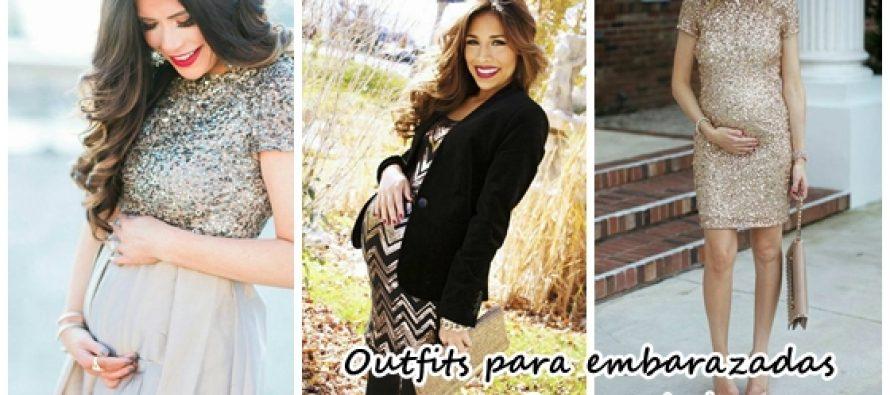Outfits que puedes usar en año nuevo si estas embarazada
