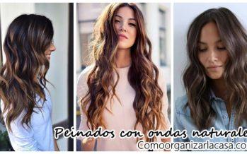 Peinados con ondas muy naturales ¡Inténtalos!