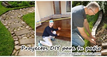 Proyectos DIY para tu patio o terraza