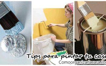 Tips y trucos para pintar tu casa ¡Te van a encantar!
