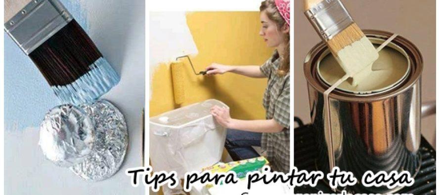 Tips y trucos para pintar tu casa te van a encantar - Trucos de casa ...