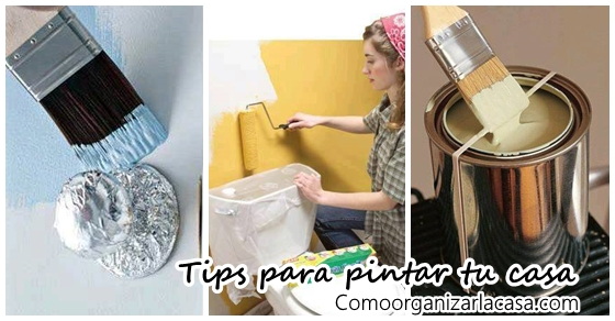 Tips y trucos para pintar tu casa te van a encantar - Consejos para pintar ...