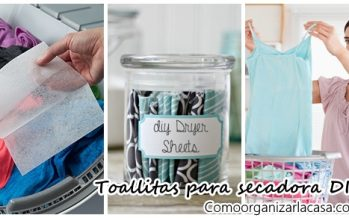 Toallas secadoras eco friendly DIY