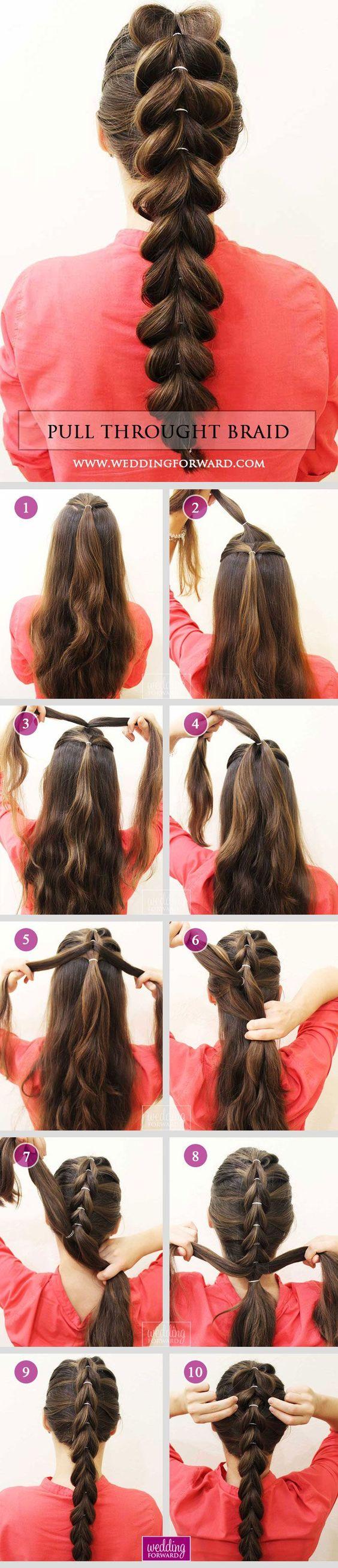 20 Peinados Con Trenza Paso A Paso Como Organizar La Casa