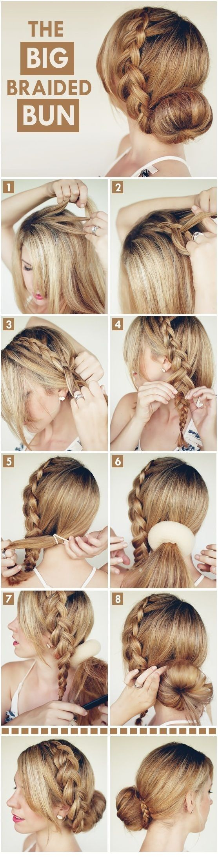 Más inspirador peinados con trenzas paso a paso Imagen de ideas de color de pelo - 20 Peinados con trenza paso a paso | Como Organizar la Casa