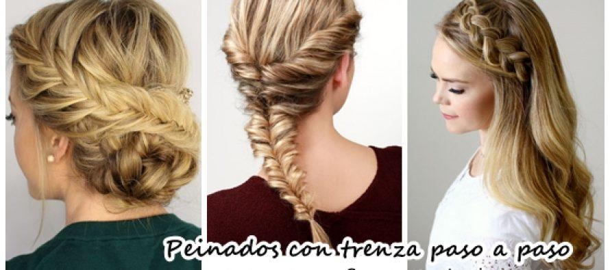 20 peinados con trenza paso a paso curso de organizacion - Peinados paso a paso trenzas ...