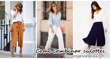 35 Increibles propuestas para usar culottes este 2017