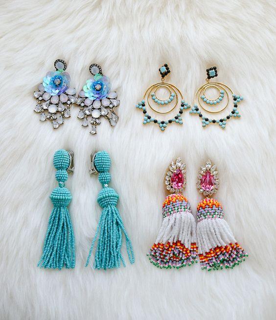 venta caliente online 0f35a eddf6 Aretes de moda   Diseños y fotos   Como organizar la casa