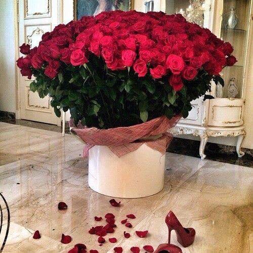 Arreglos florales ideales para san valent n 37 - Adornos florales para casa ...