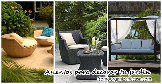 Asientos para decorar tu patio o jard n ideas que for Como decorar tu patio o jardin
