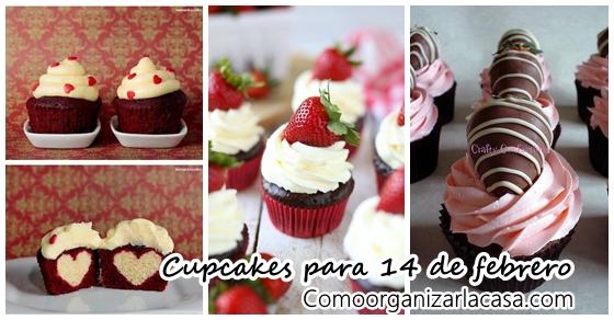 Cupcakes Para 14 De Febrero Como Organizar La Casa