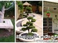 Decoración de jardines y patios