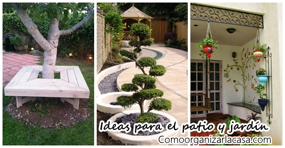 Decoraci n de jardines y patios decoracion de interiores for Decoracion de patios de casas