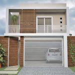 Fachada De Casas Minimalistas Sencillas Y Pequeas Artistico