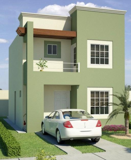 Fachadas de casas sencillas 22 decoracion de for Decoracion de interiores de casas sencillas