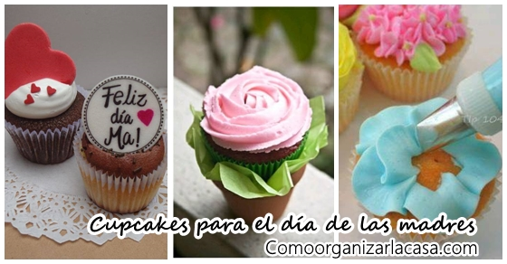 Ideas de cupcakes para el d a de las madres decoracion - Decoracion para el dia de la madre ...