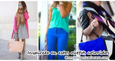 Ideas de outfits coloridos para que te inspires