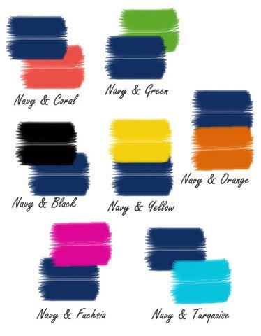 Ideas de outfits para combinar el color azul marino 29 - Colores que pegan con el azul ...