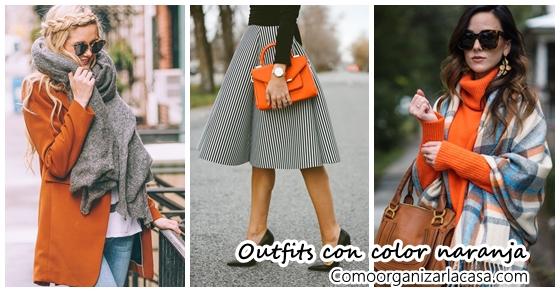 Ideas de outfits para combinar el color naranja - Combinar color naranja decoracion ...