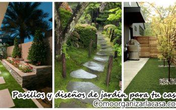 Ideas de pasillos y jardines que le darán un toque increible a tu hogar