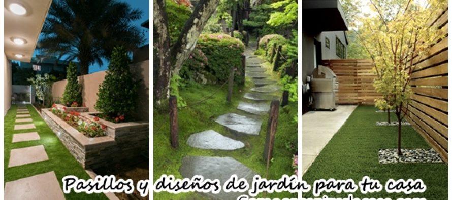 Ideas de pasillos y jardines que le dar n un toque for Jardines de hogar