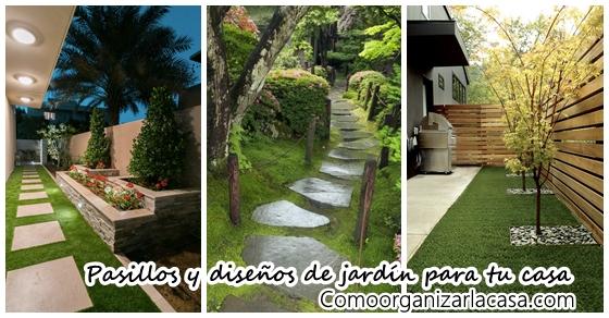Ideas de pasillos y jardines que le dar n un toque for Ideas para tu jardin en casa