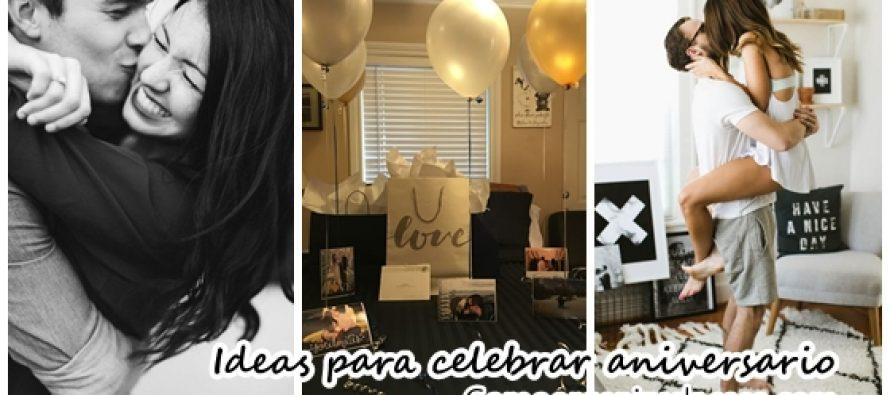 Ideas para celebrar tu aniversaria de bodas