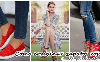 Ideas para combinar zapatos rojos