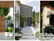 Ideas para decorar el patio de tu casa