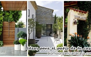 Ideas para decorar el patio de tu casa