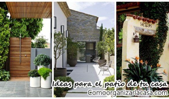 Curso de organizacion de hogar aprenda a ser organizado en for Como decorar el patio de tu casa