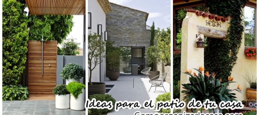 Ideas para decorar el patio de tu casa curso de for Ideas para decorar apartamentos