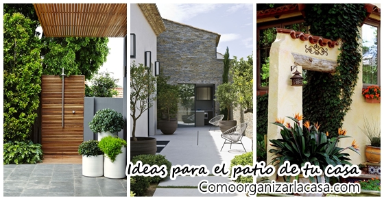 Ideas para decorar el patio de tu casa decoracion de for Ideas lindas para decorar la casa