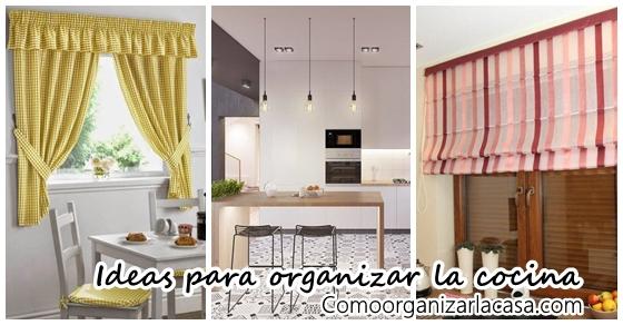 Ideas para decorar tu cocina | Decoracion de interiores Fachadas ...