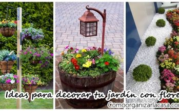Ideas para decorar tu jardín con flores
