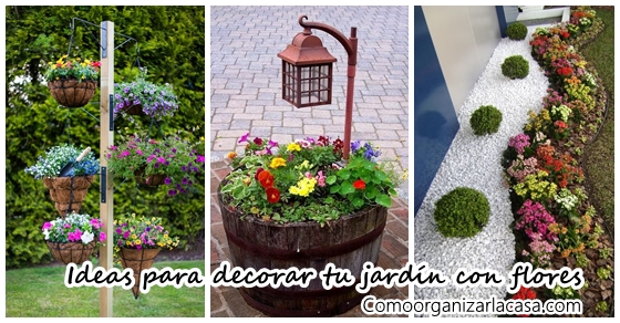 Ideas para decorar tu jard n con flores decoracion de for Planos de jardines pequenos
