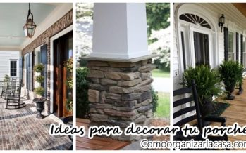 Ideas para decorar tu porche