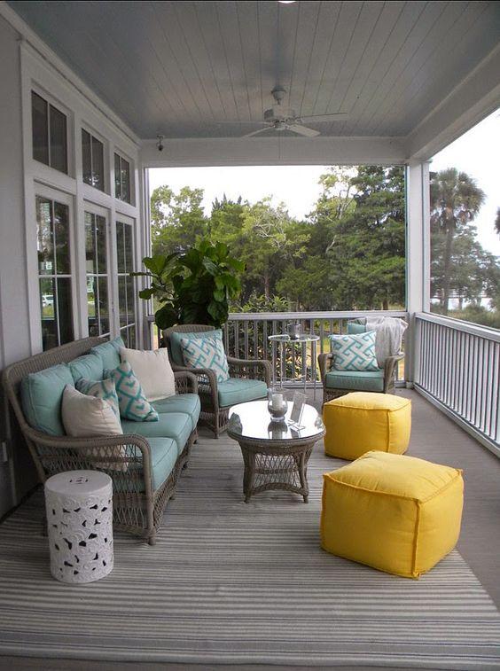 Ideas para decorar tu porche 6 decoracion de for Decorar porche pequeno